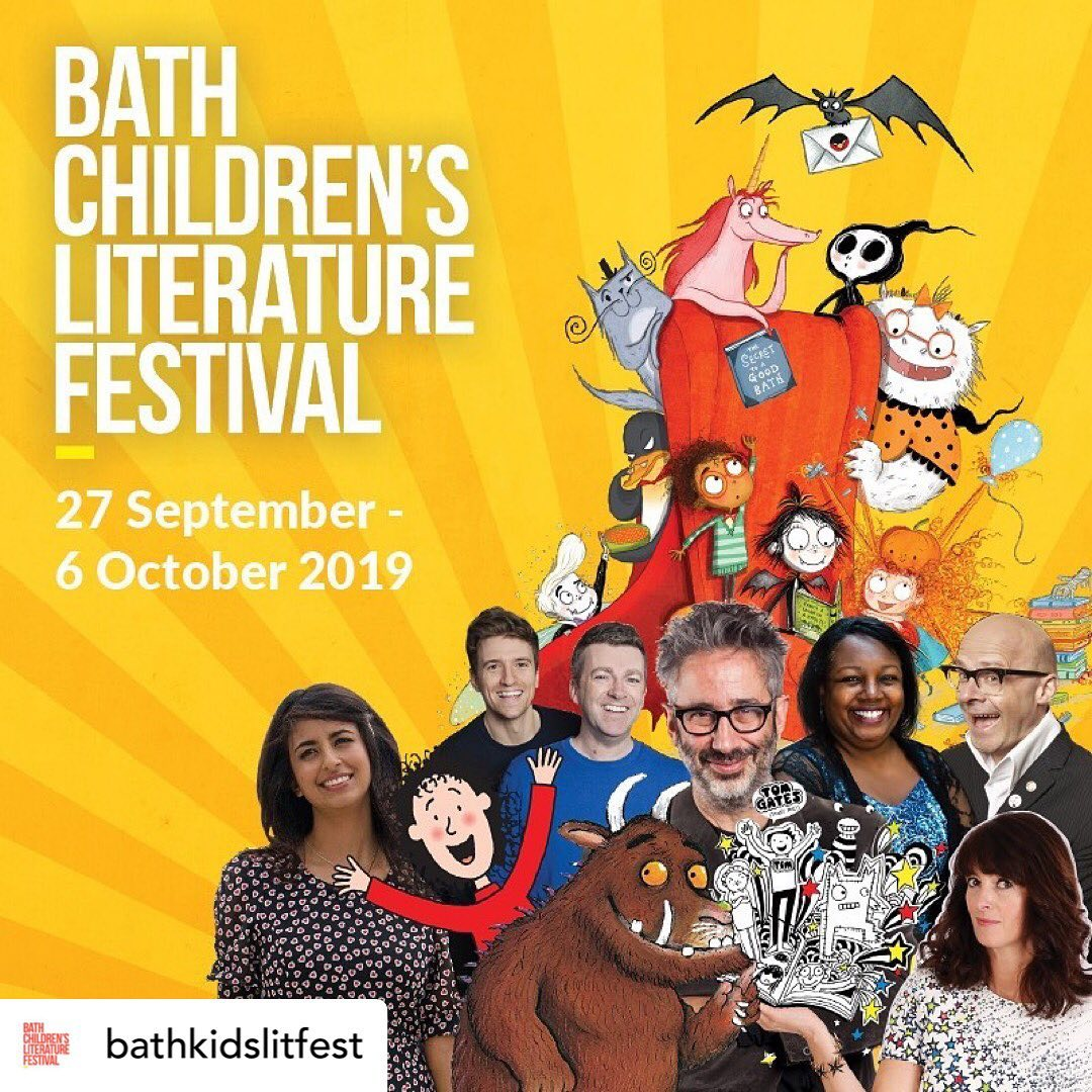 .@HenleyLitFest is upon us! Dont forget to see Nick Butterworth @Benji_Davies @RobBiddulph @sophyhenn @skinnerwrites and @acaseforbooks between 27th Sept and 6th Oct! Tickets available here! henleyliteraryfestival.co.uk/whats-on/ bathfestivals.org.uk/childrens-lite…