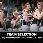 Image for the Tweet beginning: Our Grand Final squad is
