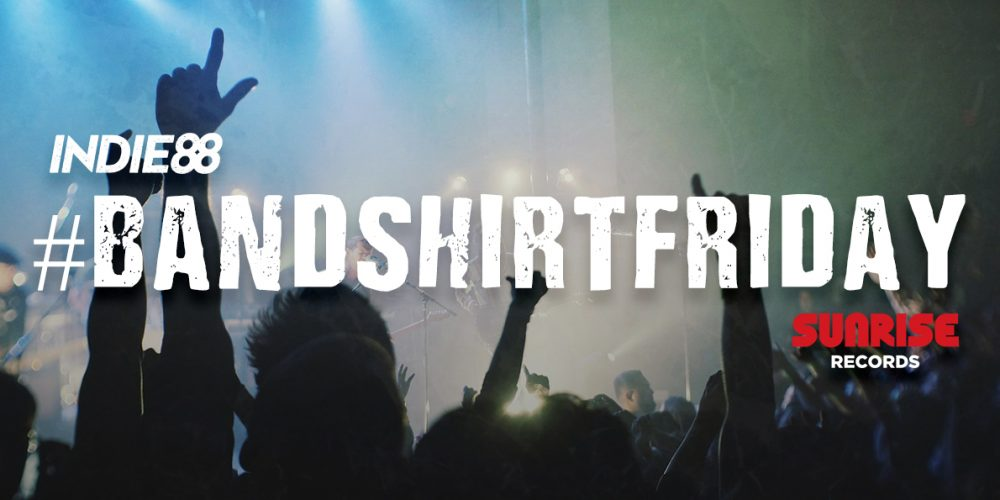 Show off your band shirt collection for #BandShirtFriday for chances to win a $50 gift card to @sunriserecords! Details: bit.ly/2lknVPk