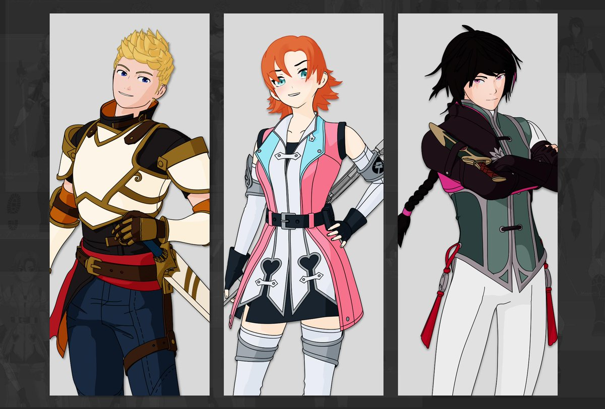 """RWBY on Twitter: """"Team RWBY arent the only ones getting new looks"""