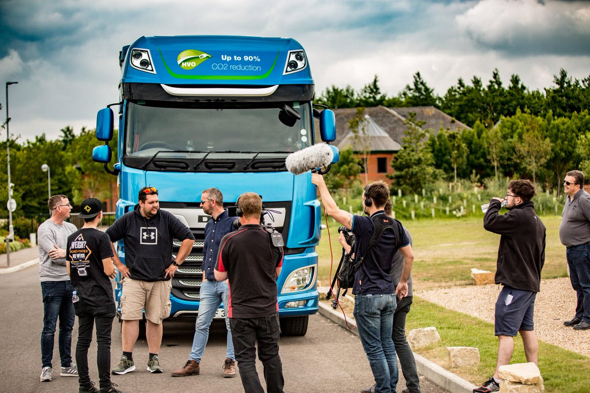 """DAF Trucks UK 🇬🇧 on Twitter: """"Tomorrow at 5pm we release The Road Legends vs the DAF Driver Challenge. The group of YouTube Trucking vloggers take on the DAF Driver Challenge, how"""