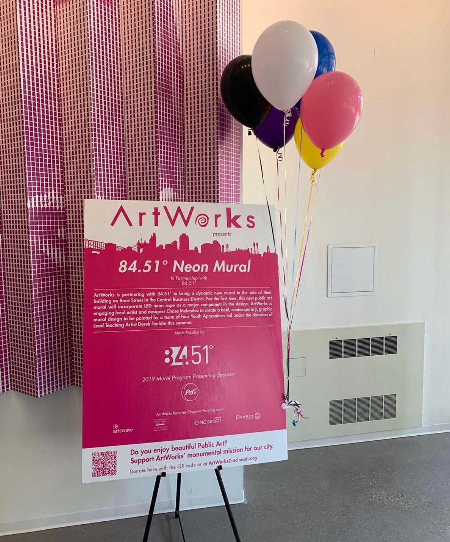 8451 art mural message