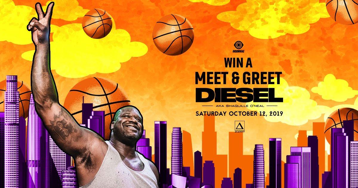 Win a meet & greet with DJ Diesel (aka @SHAQ)+ pair of tickets to see him Saturday, 10/12! 🏀 Enter: gleam.io/QI35d/meet-die…