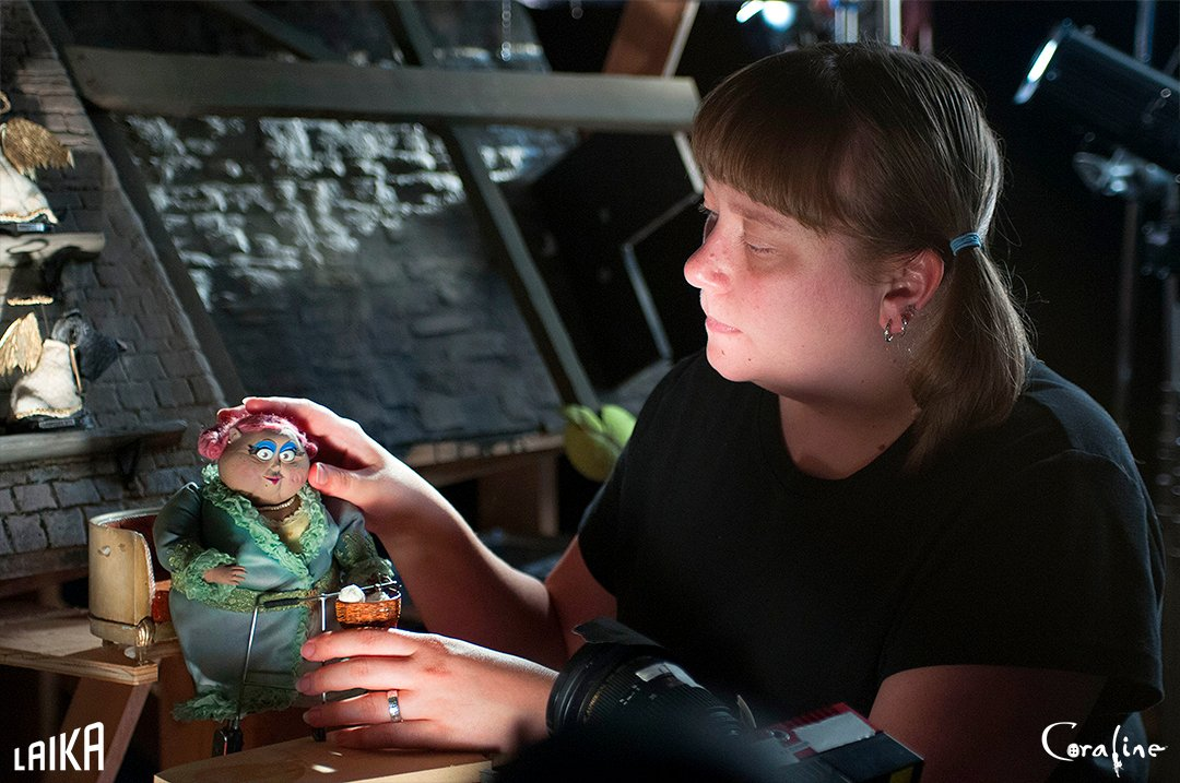 Laika On Twitter Has It Really Been 10 Years Tbt Check Out These Behind The Scenes Photos From The Making Of Coraline Coraline10