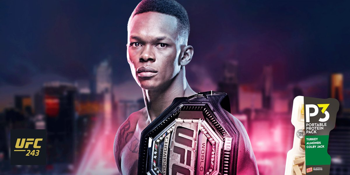 ".@StyleBender is hungry for the chance to silence the unbelievers at #UFC243. Here's 3 things to know about Israel Adesanya: 💫 Undefeated in @UFC with 75% of fights ending with a KO ⬇️ Nickname is ""The Last Stylebender"" 🐘 His interest in martial arts started by watching Ong-Bak https://t.co/x6A2gAJhRv"