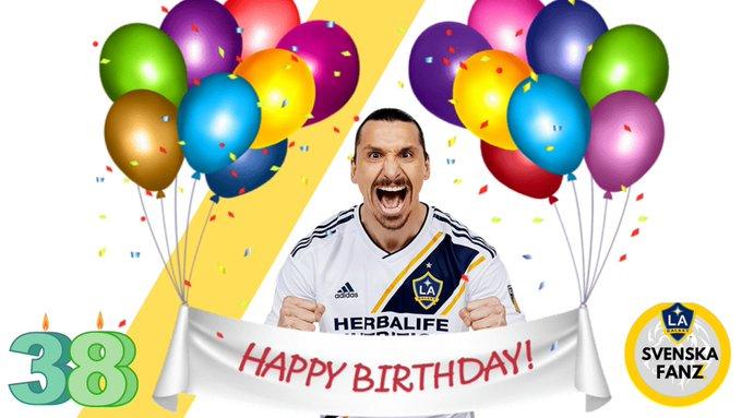 Happy Birthday Zlatan!