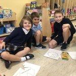 Image for the Tweet beginning: This afternoon kindergarten met their