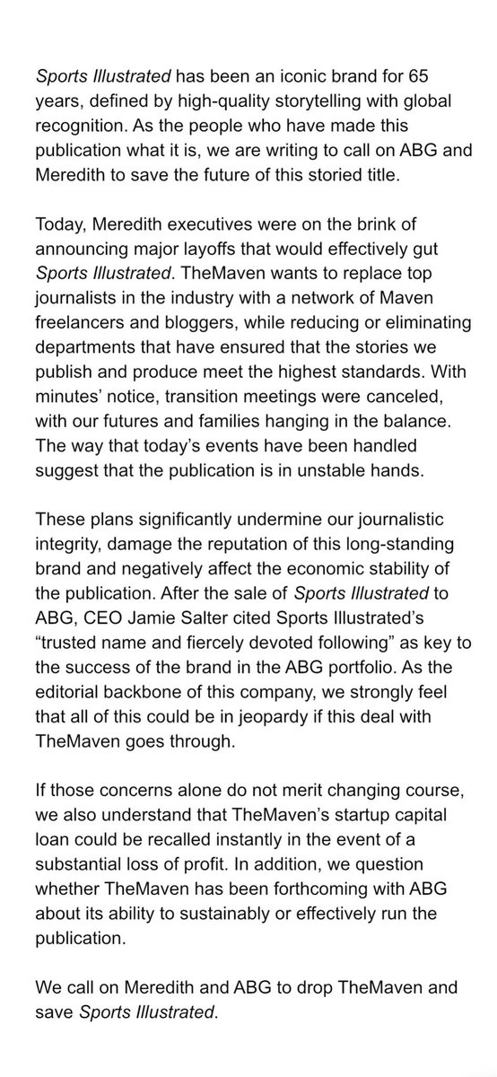 New management slashes the staff at Sports Illustrated, once the industry's gold standard