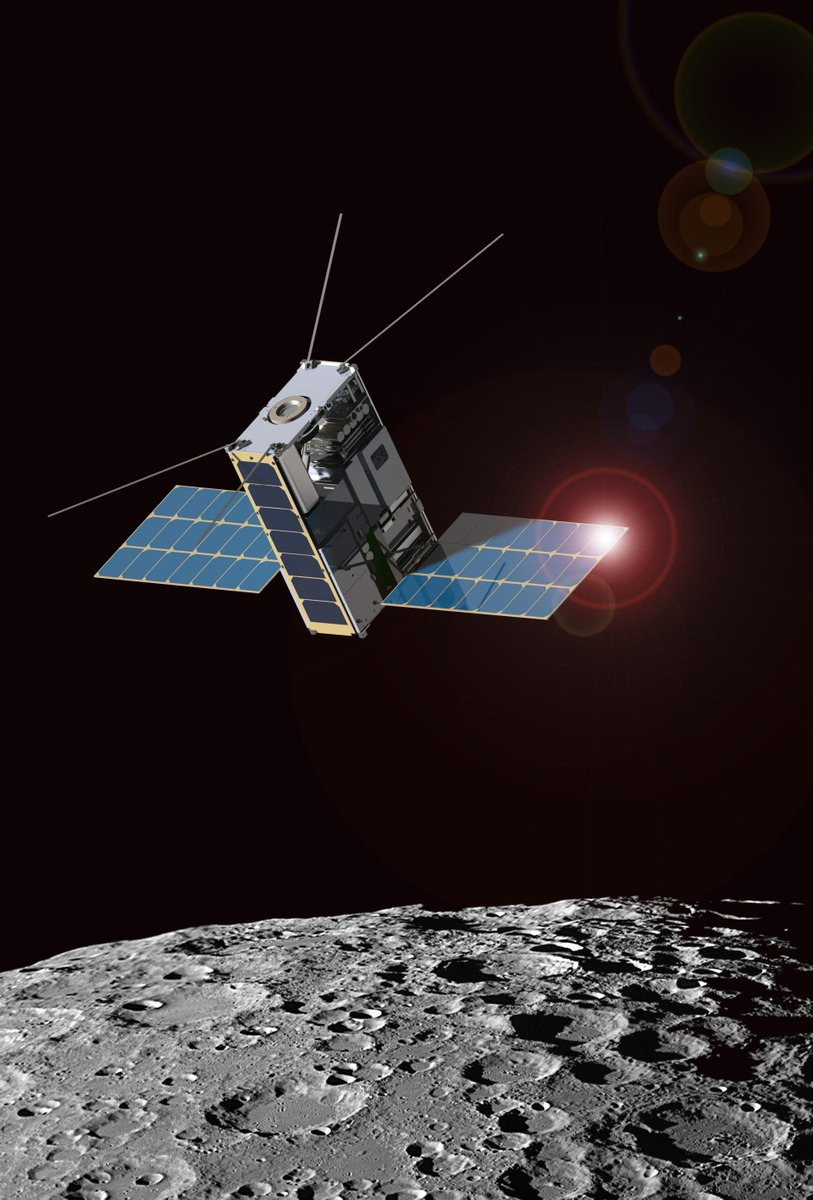U.S. universities are invited to team up with NASA centers to propose SmallSat systems for future lunar missions. Were seeking new ways for small spacecraft to communicate, navigate & operate beyond low-Earth orbit. 🛰️Notices of Intent due by tomorrow: go.nasa.gov/2Ic3MmU