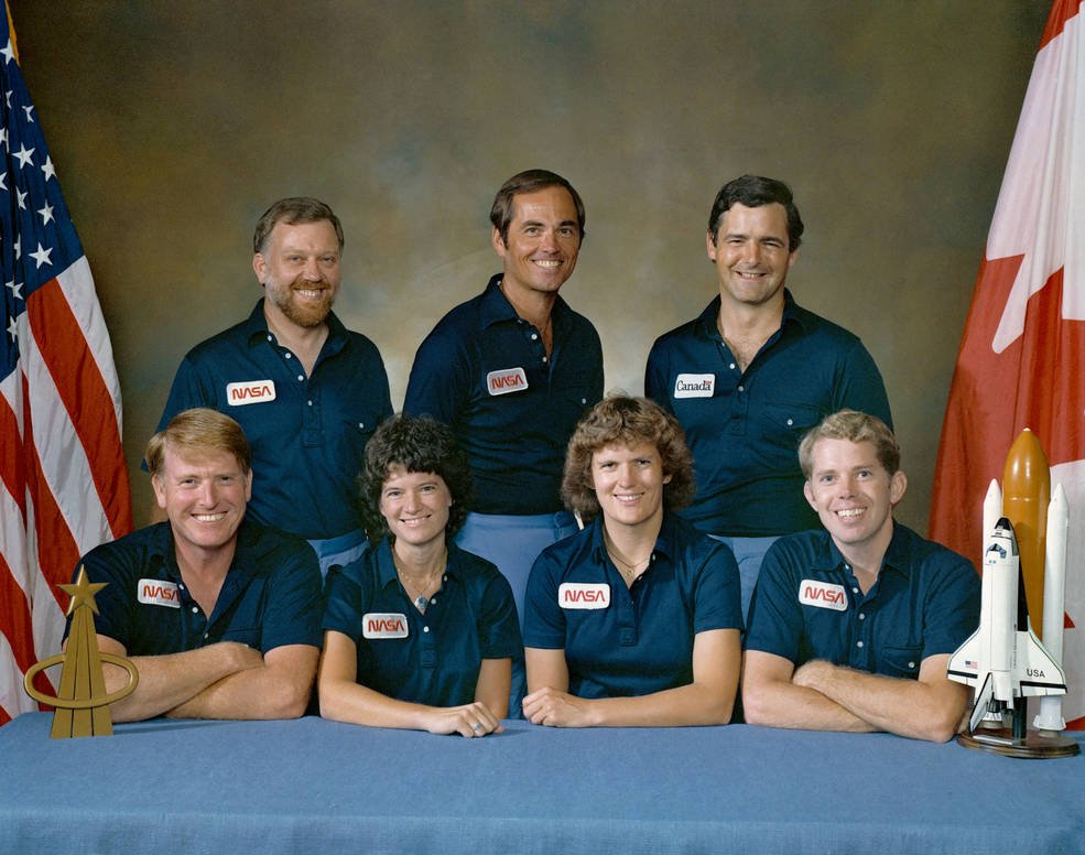 35 years ago, the STS-41G Space Shuttle mission set many firsts, including the first to study the Earth using a satellite, instruments, cameras, and crew observations. Learn more: nasa.gov/feature/35-yea…