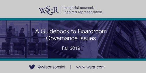 Résultats de recherche d'images pour «A Guidebook to Boardroom Governance Issues»
