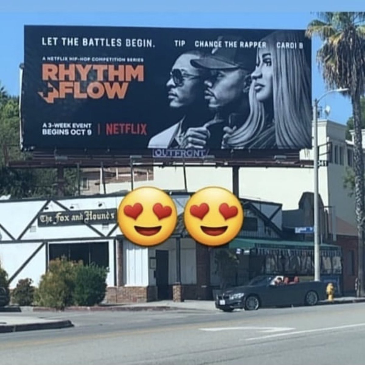 This is too wild. (billboard spotted in Studio City by teamtroyman.)