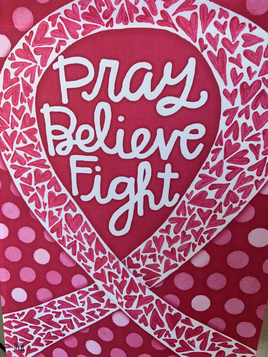 Fight like a girl! #believe #hope #pink https://t.co/Th8qIc3j8J