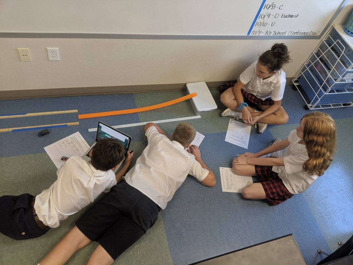Exploring the relationship between mass and kinetic energy. #GSESDallas #handsonlearning