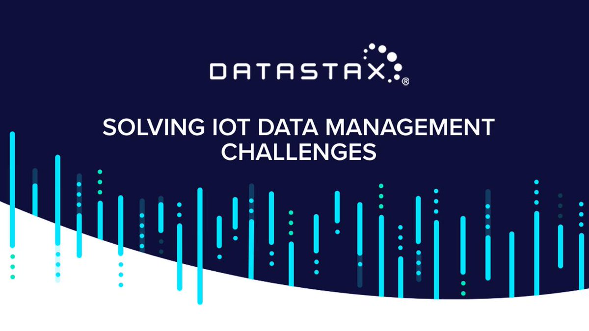 Let's talk about how your data management system is going to handle the deluge of IoT and 5G at scale.
