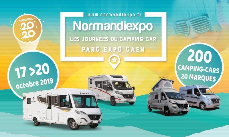 Rendez-vous du 17 au 20 novembre au #ParcExpoCaen pour la 12ème de Normandiexpo, les journées du #campingcar.Une large offre de véhicules neuf et d'occasion vous attend. 🚍🚐#ParcExpoCaen #campingcar #caen https://t.co/a24CuLCYaH
