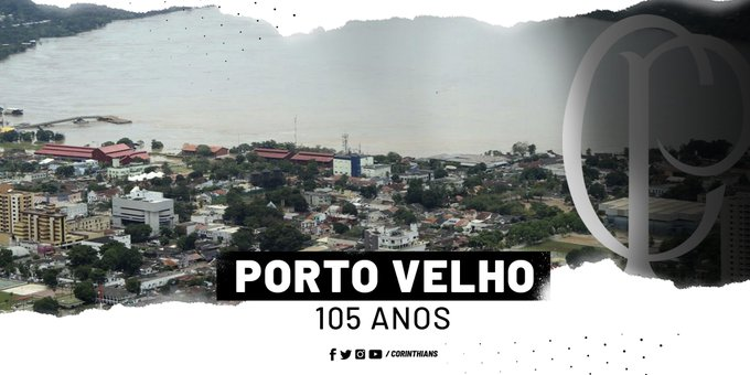 Corinthians deu os parabéns aos porto velhense  (Foto: Corinthians )