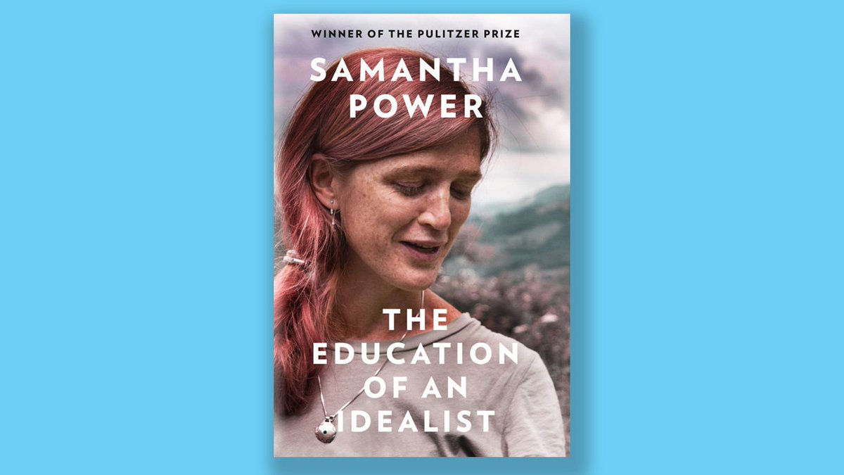Honest, inspiring and evocatively written, @SamanthaJPowers memoir is an unforgettable account of the world-changing power of idealism. A uniquely personal and absorbing account of [Power's] time at the heart of US foreign policy - The Irish Times amazon.co.uk/Education-Idea…