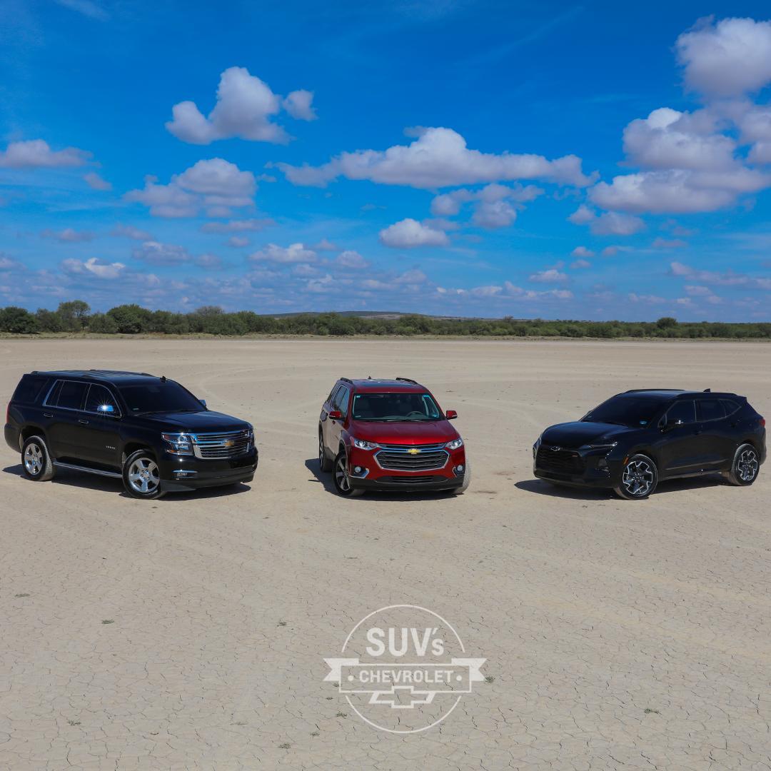 La tecnología que encuentras en nuestra familia de SUV's Chevrolet te ayudará a recorrer cada paso en tu camino al éxito. https://t.co/UJiPd07Uh6