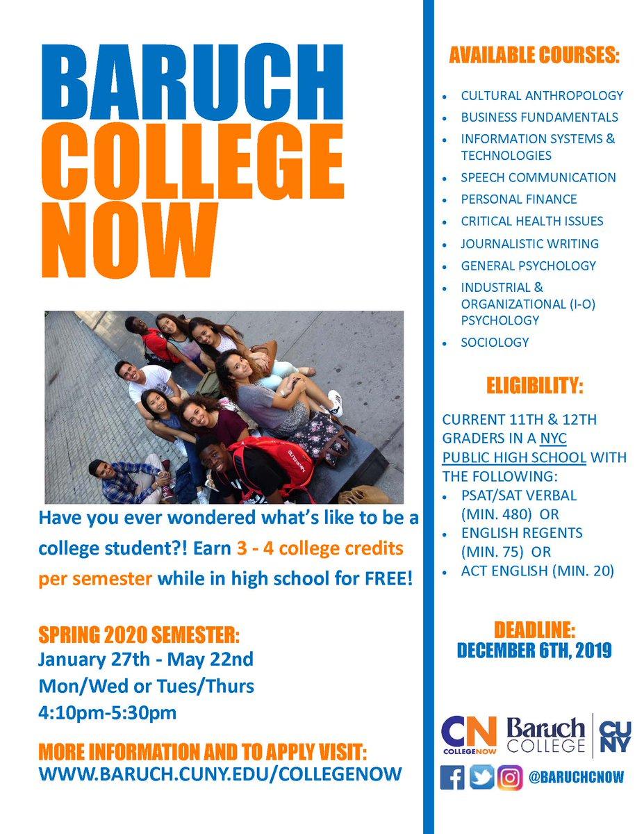 Baruch Fall 2020.Baruch College Now Baruchcnow Twitter