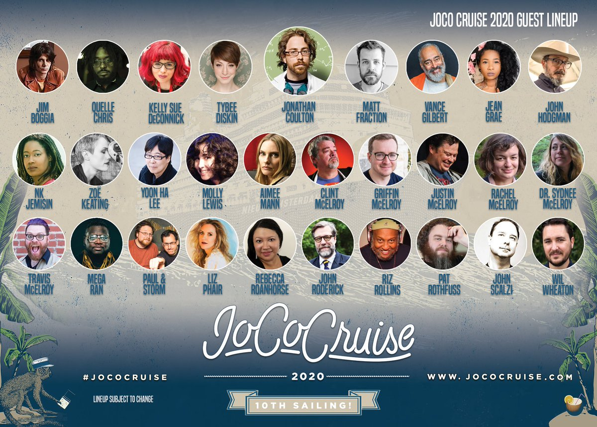 Joco Cruise 2020.Jococruise On Twitter We Are Downright Jazzed To Reveal