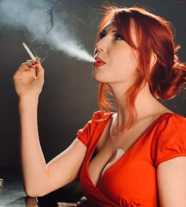 The smoking redheads cocktails