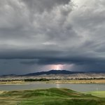 Image for the Tweet beginning: Can you say lightning delay? . . . #tpccolorado