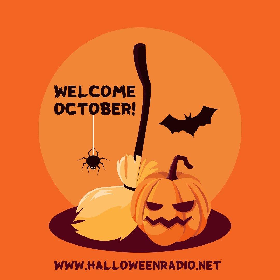 Halloween Radio On Twitter Goodbye September Welcome October Halloween2019 Halloween Halloweenradio Halloweenmusic October