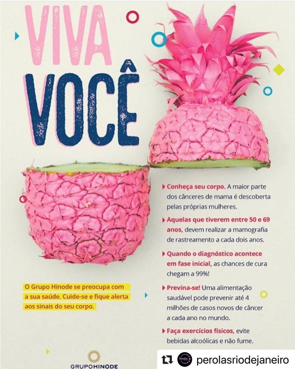 Outubro Rosa Hinode Cuide-se e cuide de quem você amaMês Mundial de Prevenção ao Câncer de Mama  #perolas #perolasrj #outubrorosa #riodejaneiro #barradatijuca #hinode http://facebook.com/CarlaHinodeBarra… http://instagram.com/hinodebarradatijuca… meu espaço virtual hinode http://bit.ly/carlapaurapic.twitter.com/age9ZPtIbe