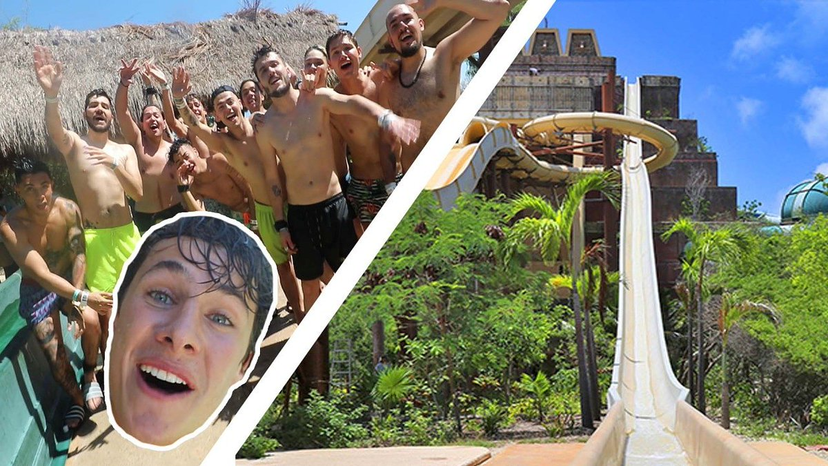 ¡Nuevo video! Los caballeros nos lanzamos del tobogán más extremo de latinoamericana. youtu.be/dutluqoAp8I