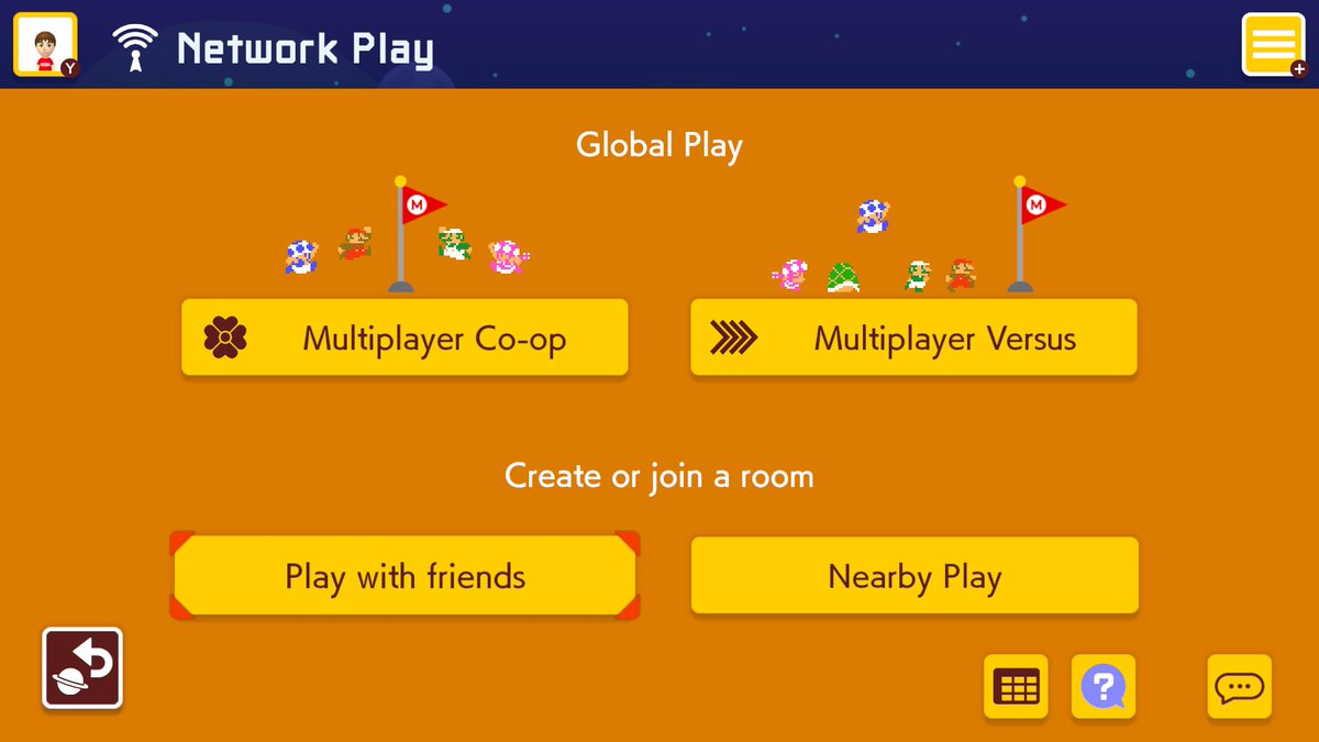 Nintendo Of America On Twitter Call Your Friends The Version 1 1 0 Update Of Supermariomaker2 Is Available Now It Adds Online Co Op Versus Multiplayer With People On Your Nintendoswitch Friends List You Welcome to the official nintendo profile for gaming news! nintendo of america on twitter call