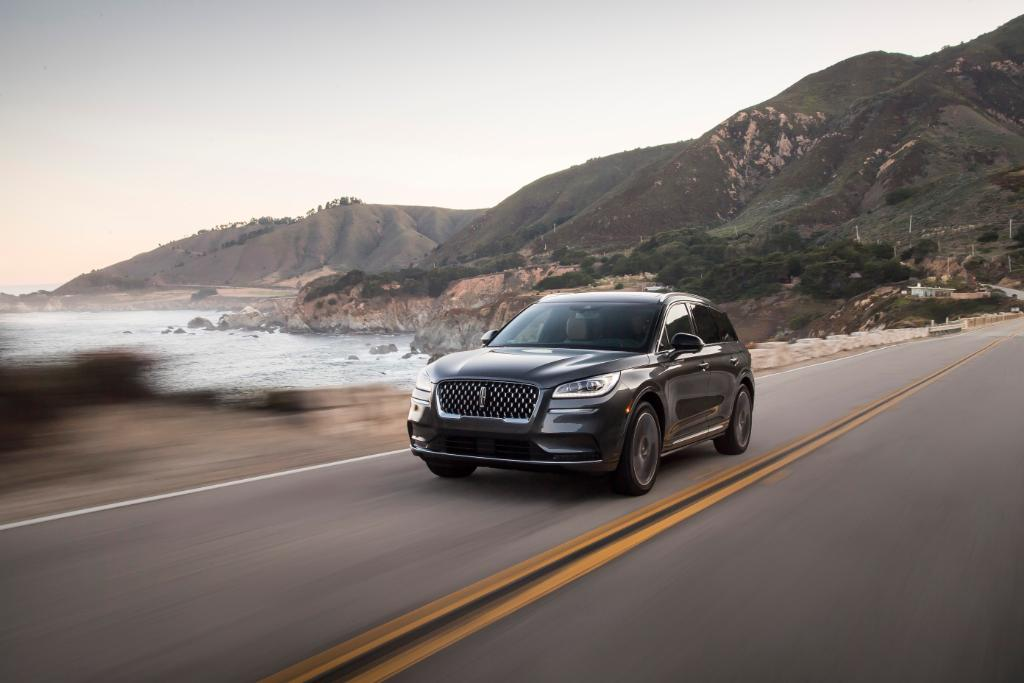 """The all-new #LincolnCorsair has arrived, and its dramatic design is already turning heads. """"Inside and out, you always have a surface that's intriguing,"""" says Kemal Curic, our chief designer. """"It's designed to pull you in."""" *Available fall 2019"""