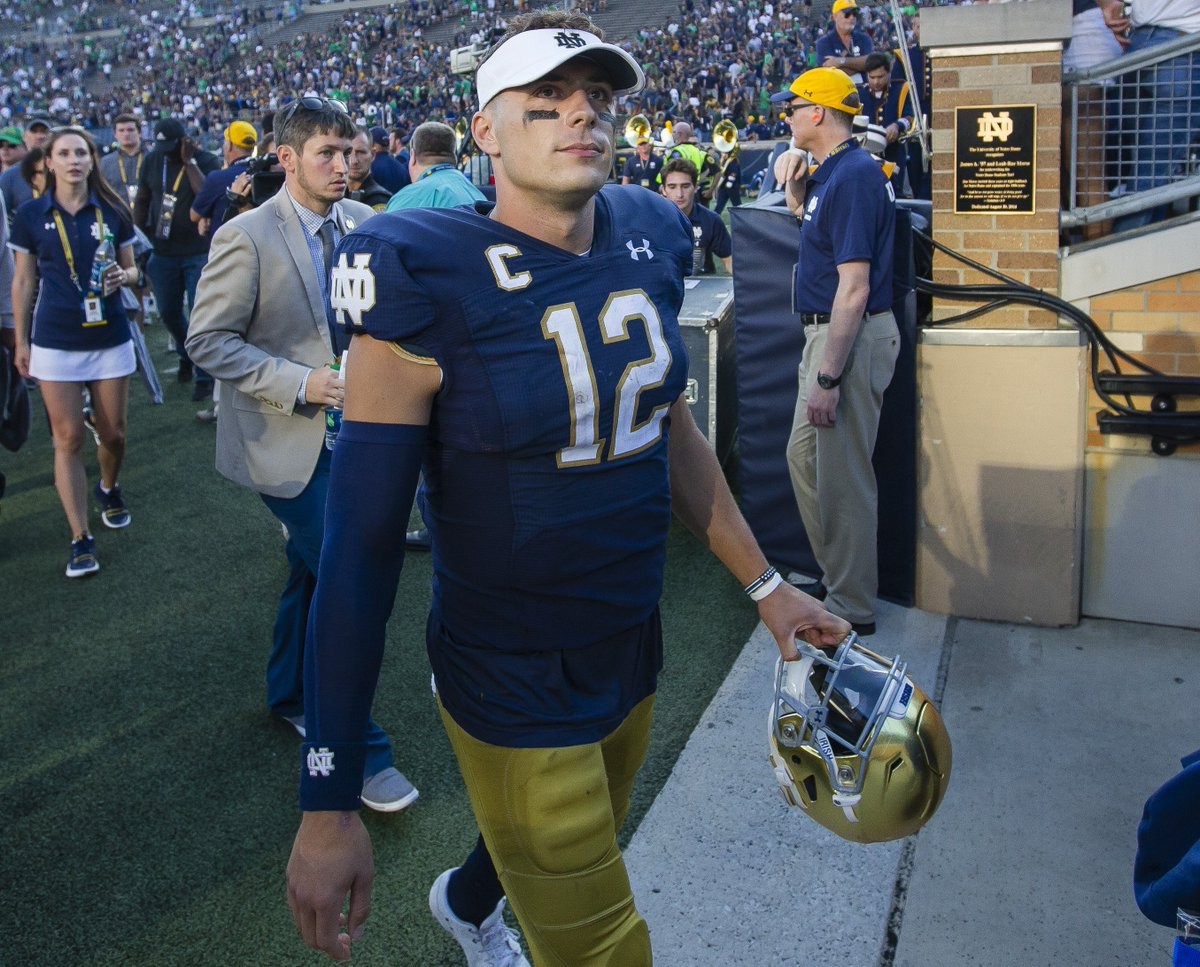 notre dame football roster 2020