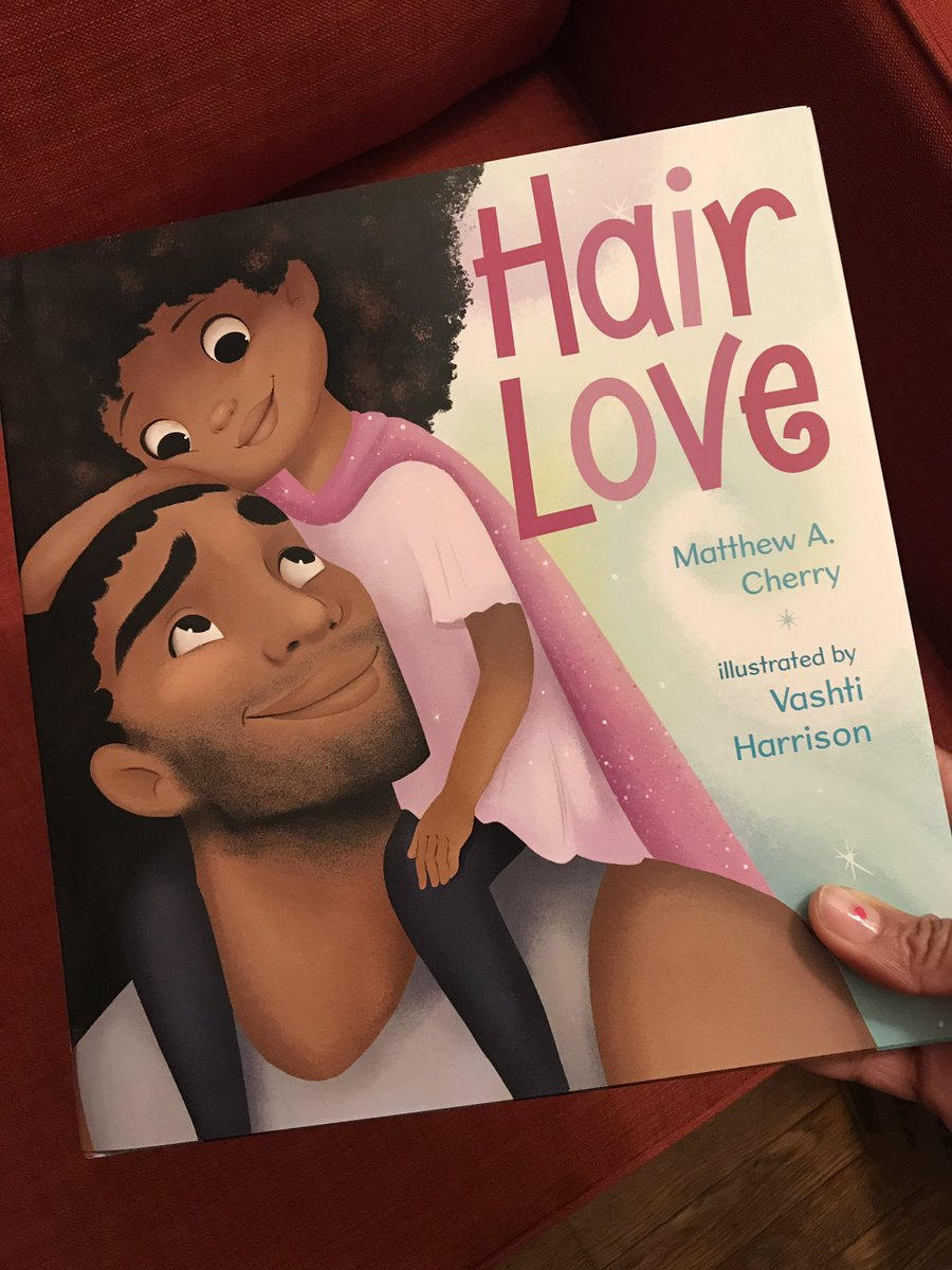 Gonna spread some #HairLove! (I need a copy for myself!) #Thanks for writing this @MatthewACherry!