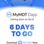 Image for the Tweet beginning: Get ready everyone!!! MyMDT Dapp