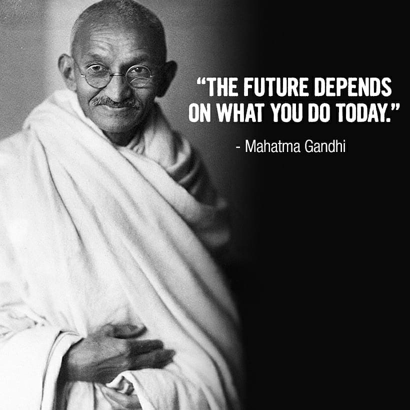 Wishing all of you a very Happy #GandhiJayanti.. Remembering our very own Bapu who did so much for our Nation..Vande Mataram, Jai Hind 🇮🇳 🙏🏻
