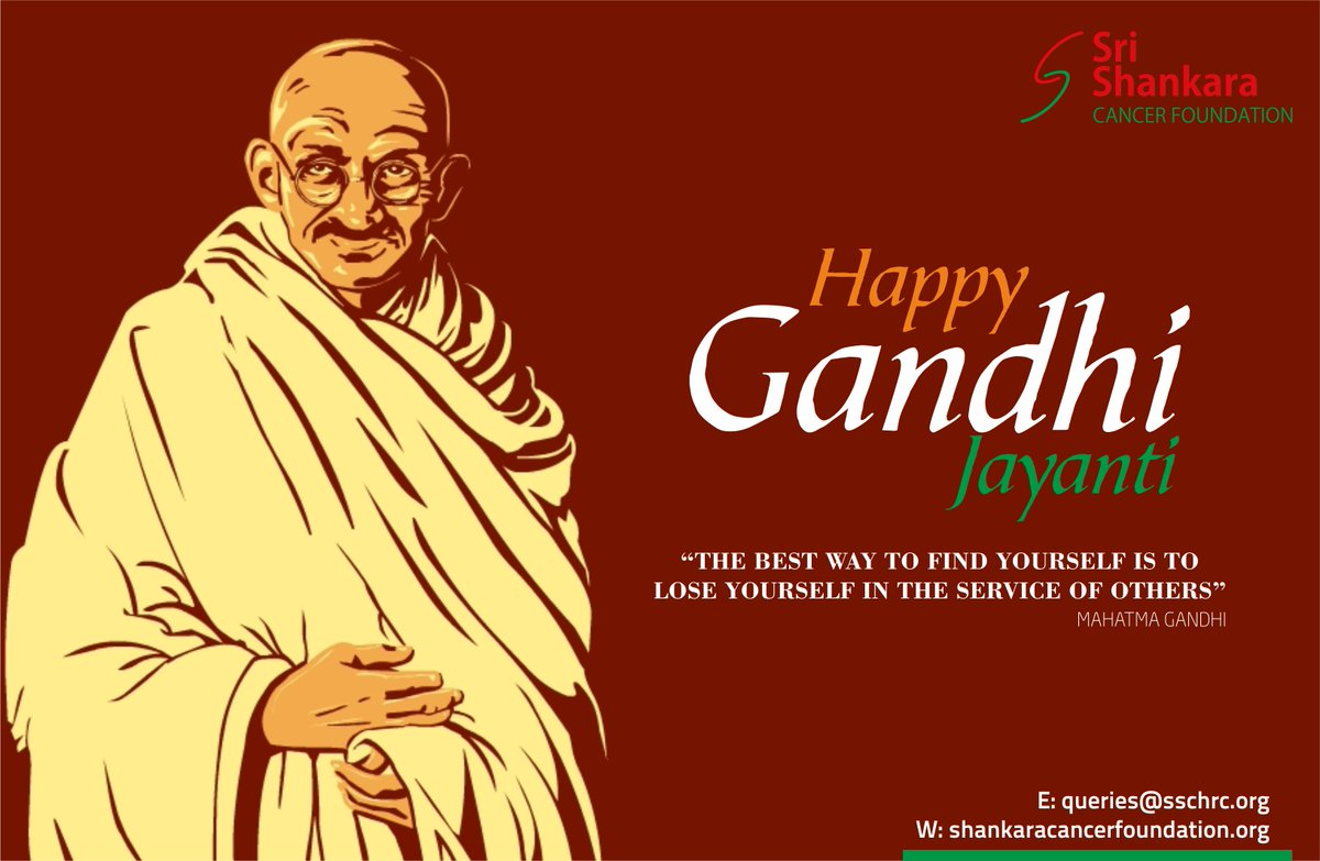 Happy Gandhi Jayanti! #gandhijayanthi #SatyamevaJayate