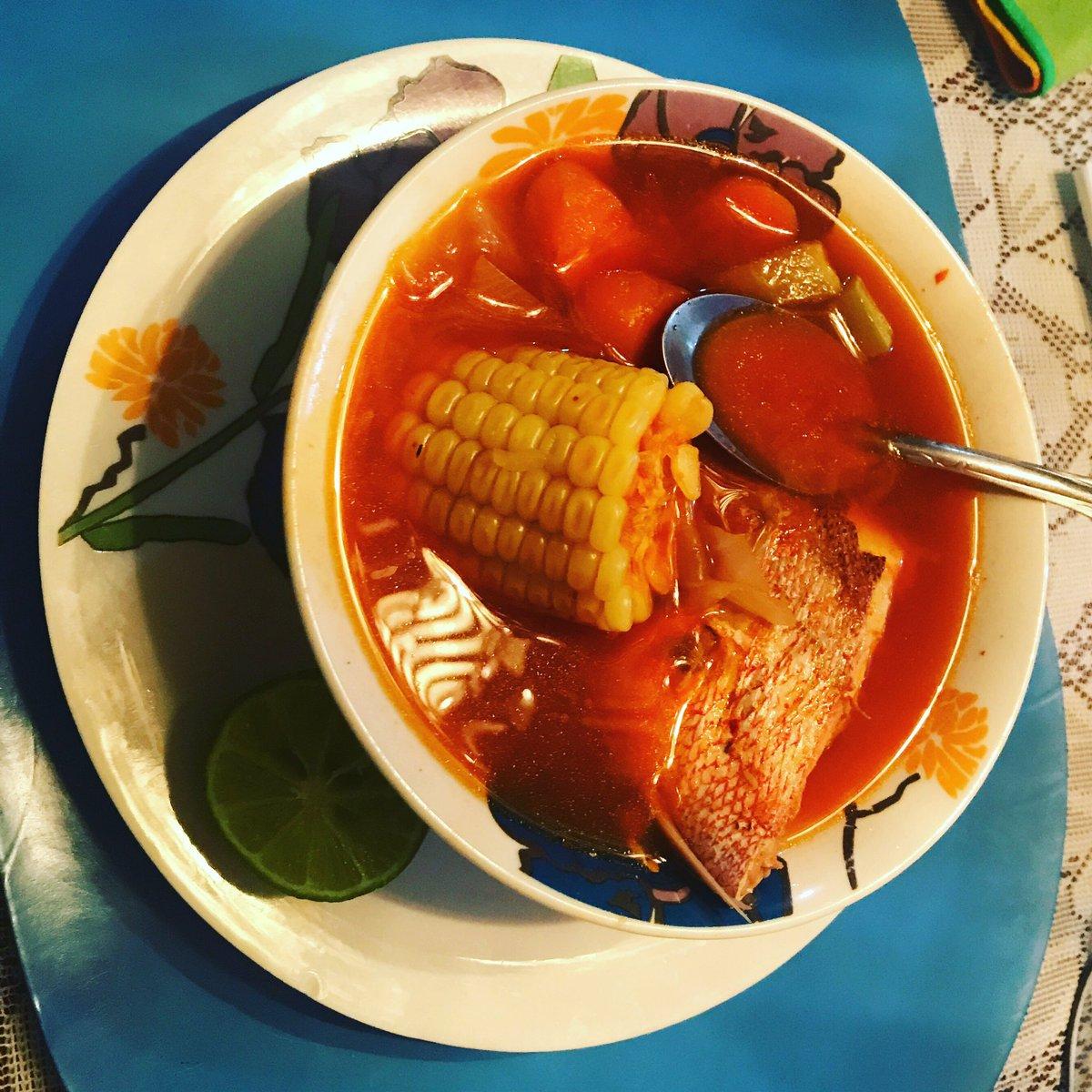 #Caldo de #Huachinango - #Tecnología de #Alimentos #QFB #Mexicano #Nicolaita #ÁGORA - #LindauParaSiempre (#LindauForLife)