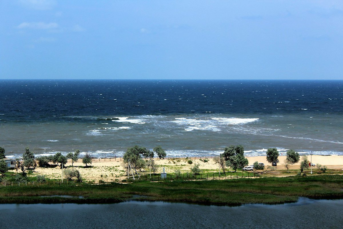 поселок голубицкая азовское море фото жилье матвейки