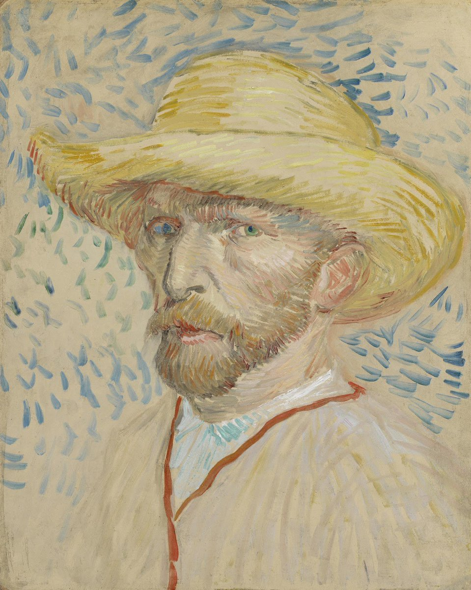Van Gogh mentioned more than 1,100 artworks and at least 800 books and magazine articles in his letters. Why did he read so much? He sought intellectual and artistic nourishment because he wanted to grow, as an artist and as a person. How do you try to grow as a person?