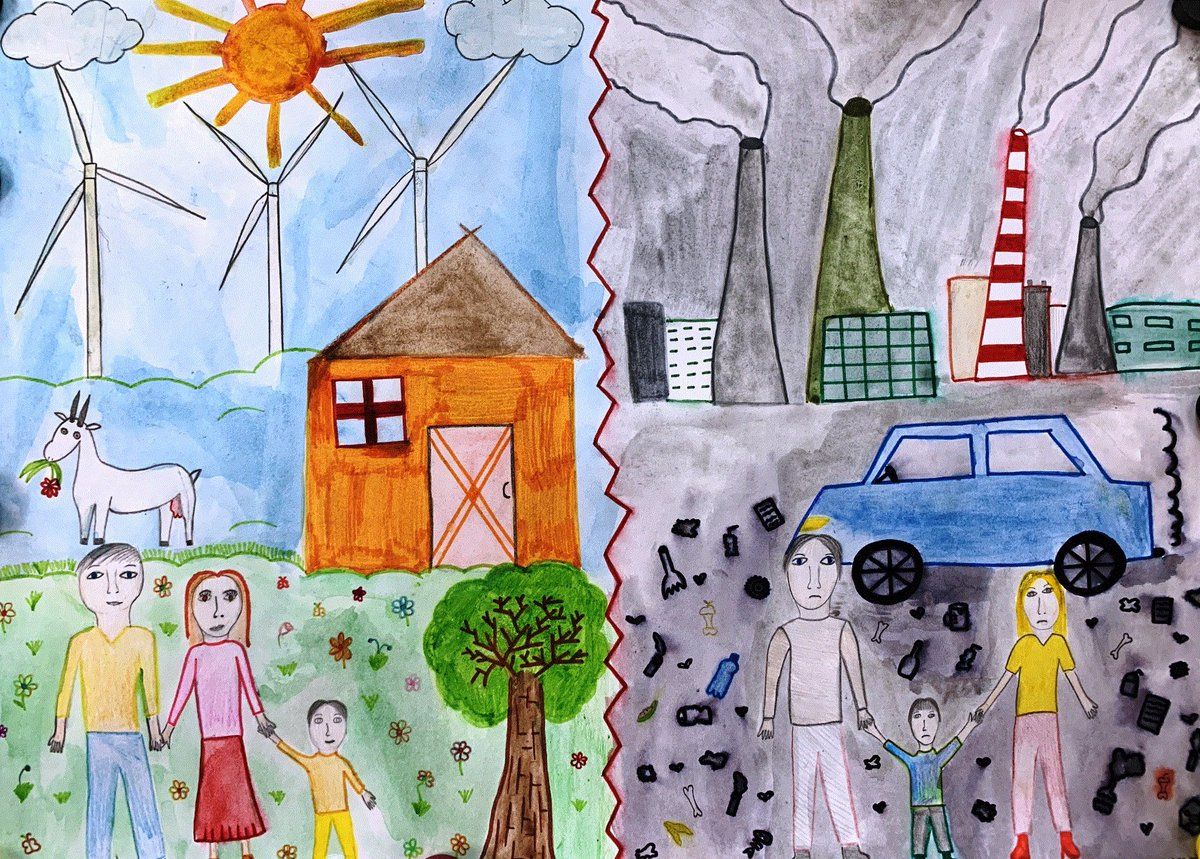 Рисунок энергетика будущего глазами ребенка
