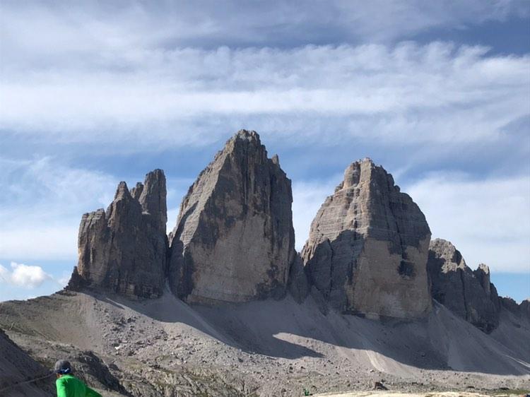 RT @dolomiti_it: Our loved Three Peaks are always ...