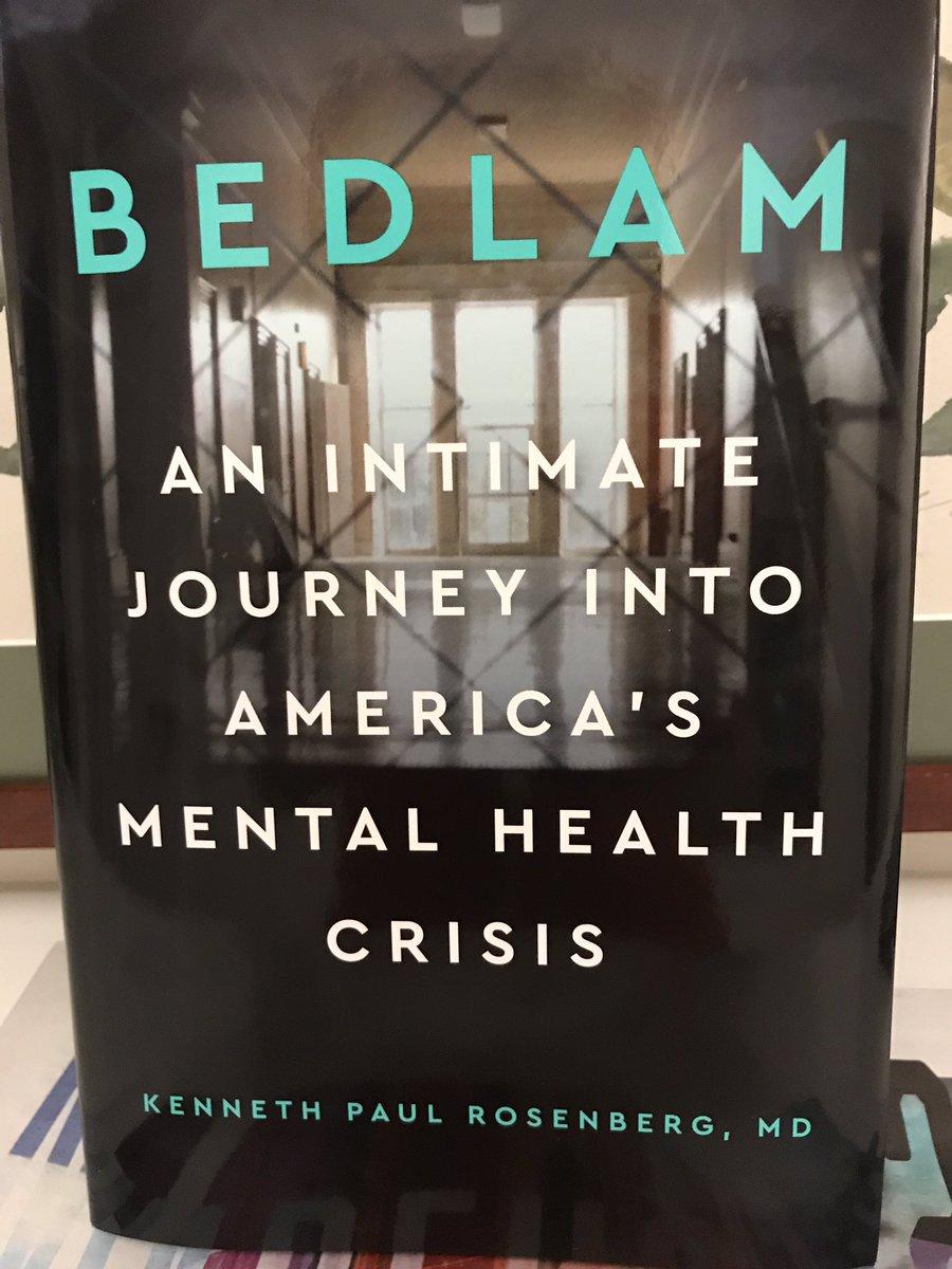 Just published book by my partner Ken Rosenberg, Bedlam, takes long deep look at criminalization of mental illness twitter.com/bronxdefenders…