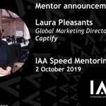 Tonight, @Captify's Laura Pleasants will be joining some of media's most prominent leaders for the @IAA_UK's #SpeedMentoring event. Guests will have the chance to get the low-down on everything from brand building to managing your own internal PR🙌#careerdevelopment #iaauk