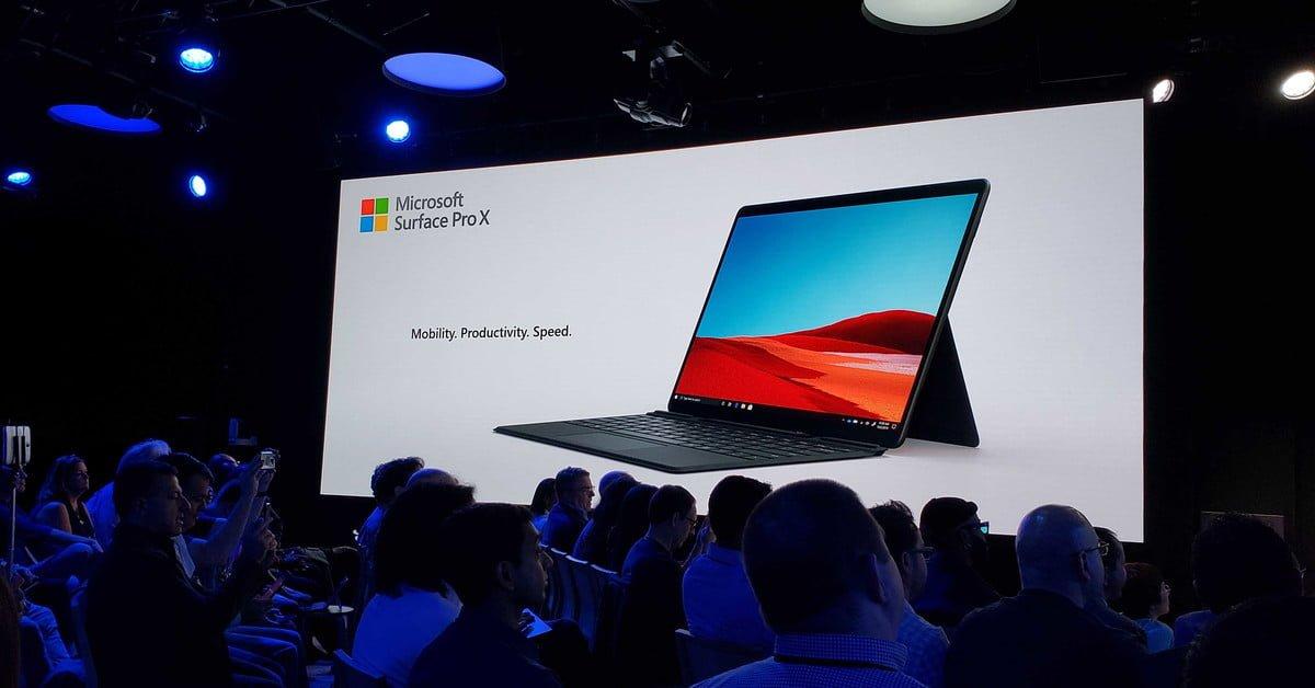 La 2-en-1 Surface Pro X de #Microsoft ofrece una experiencia ligera y realista