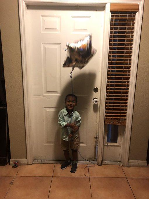 My big boy is 3 today! Please wish him a Happy Birthday!