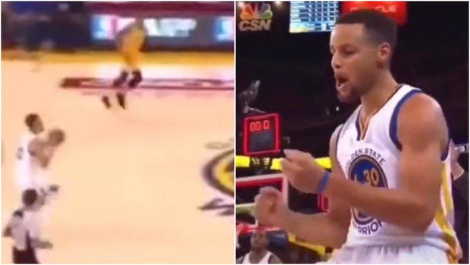 【影片】這誰頂得住啊!Curry單場比賽上演多次超遠壓哨,對手看到都絕望了!