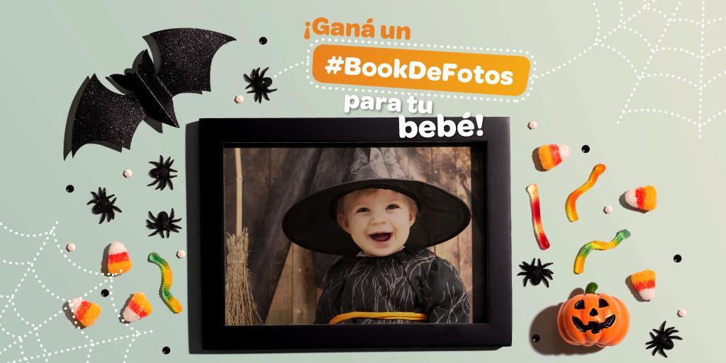 Para que no se pierdan el recuerdo inolvidable de su bebé en el mes de Halloween les trajimos el #BookDeFotos de Octubre!!  Para participar solo tienen que llenar el siguiente formulario  https://t.co/8dU1kfZJsP Tienen tiempo hasta el 27! Sorteamos el 28! https://t.co/sCI24l6xSE