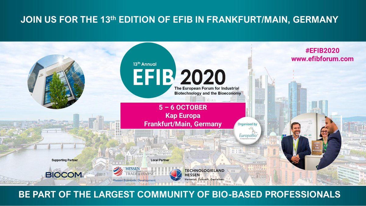 test Twitter Media - 🎉THANK YOU🎉! 3 days of exciting #biotech innovations, inspiring speakers and discussions, #biobased products to taste, feel & experience: #EFIB2019 had it all - Thank you for joining us and see you next year at #EFIB2020 in #Frankfurt! @EuropaBio @investinhessen @BiocomDe https://t.co/TzhDt6IHZR