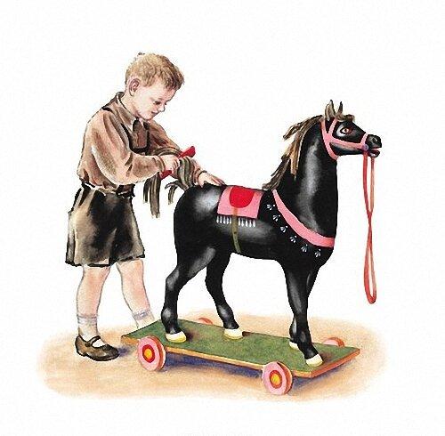 Я люблю свою лошадку картинка